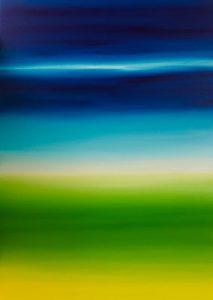 """Kathrin Zier: """"Blaugrün"""""""